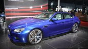 BMW M6 Gran Coupe front three quarter profile live