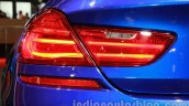 BMW M6 Gran Coupe taillight detail live