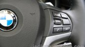 BMW X5 steering mounted audio controls right live