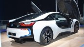 BMW i8 rear three quarter profile live