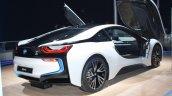 BMW i8 rear three quarter profile live