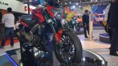 Bajaj Pulsar CS400 front three quarters