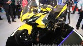 Bajaj Pulsar SS400 front three quarters view
