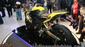 Bajaj Pulsar SS400 rear three quarter view