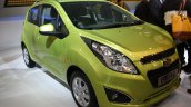 Chevrolet Beat facelift front three quarter live