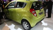 Chevrolet Beat facelift rear three quarter live