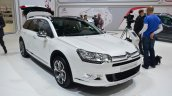 Citroen C5 CrossTourer front three quarters at Geneva Motor Show