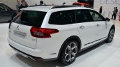 Citroen C5 CrossTourer rear three quarters at Geneva Motor Show