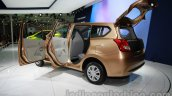 Datsun Go+ rear three quarters at Auto Expo 2014