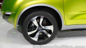 Datsun Redi-Go wheel at Auto Expo 2014