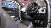 Fiat 500 Abarth driver controls at Auto Expo 2014