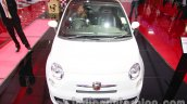 Fiat 500 Abarth front at Auto Expo 2014