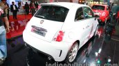 Fiat 500 Abarth rear three quarters right at Auto Expo 2014