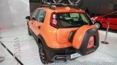 Fiat Avventura rear three quarters view