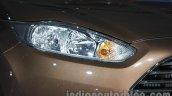 Ford Fiesta Facelift at Auto Expo 2014 headlight