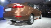 Ford Fiesta Facelift at Auto Expo 2014 rear quarter