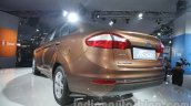 Ford Fiesta Facelift at Auto Expo 2014 rear quarters