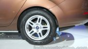 Ford Fiesta Facelift at Auto Expo 2014 rear wheel
