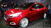 Ford Figo Concept Sedan Launch Images front three quarter 4