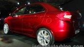 Ford Figo Concept Sedan Launch Images rear three quarter 2