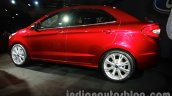Ford Figo Concept Sedan Launch Images rear three quarter 3