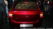 Ford Figo Concept Sedan Launch Images rear top