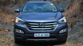 Front of 2013 Hyundai Santa Fe Review