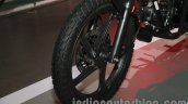 Hero Passion Pro TR at Auto Expo 2014 wheel front