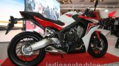 Honda CBR650F side view at Auto Expo 2014