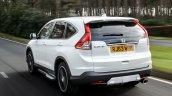 Honda CRV Black and White edition UK white rear