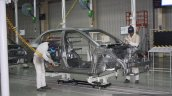 Honda Cars India Tapukara Plant body-in-white welding live