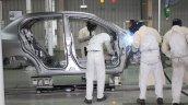 Honda Cars India Tapukara Plant front body welding live