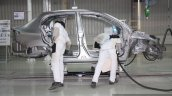 Honda Cars India Tapukara Plant inside body welding live