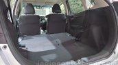 Honda Jazz rear seat flat folding at 2014 Auto Expo