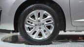 Honda Jazz wheel at 2014 Auto Expo