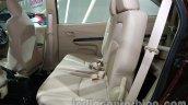 Honda Mobilio second row seat at Auto Expo 2014