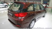 Honda Mobilio rear three quarters at Auto Expo 2014