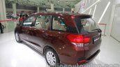 Honda Mobilio rear three quarters left at Auto Expo 2014