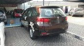 Honda Mobilio rear three quarters review