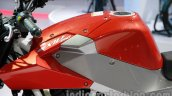 Hyosung GD 250N fuel tank at Auto Expo 2014