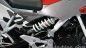 Hyosung GD 250N rear suspension at Auto Expo 2014