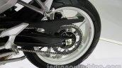 Hyosung GD 250N rear wheel at Auto Expo 2014