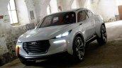 Hyundai Intrado SUV concept press shots front quarter