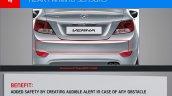 Hyundai Verna presentation sensors