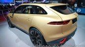 Jaguar C-X17 at 2014 Auto Expo rear three quarters