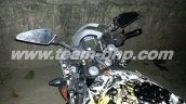 KTM RC390 caught on test India cluster
