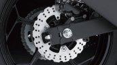Kawasaki Ninja 250 RR Mono rear disc brake detail press shot
