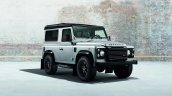 Land Rover Defender Black Pack front quarter