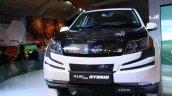Mahinda XUV500 Hybrid front detail live