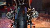 Mahindra Mojo dual exhaust live